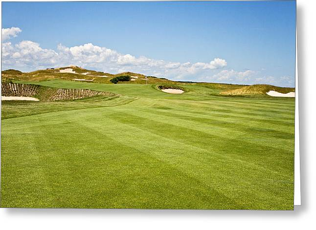 Wisconsin Golf Greeting Cards - Beautiful Approach Greeting Card by Scott Pellegrin