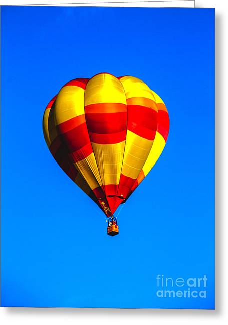 West Wetland Park Greeting Cards - Beautiful Balloon Greeting Card by Robert Bales