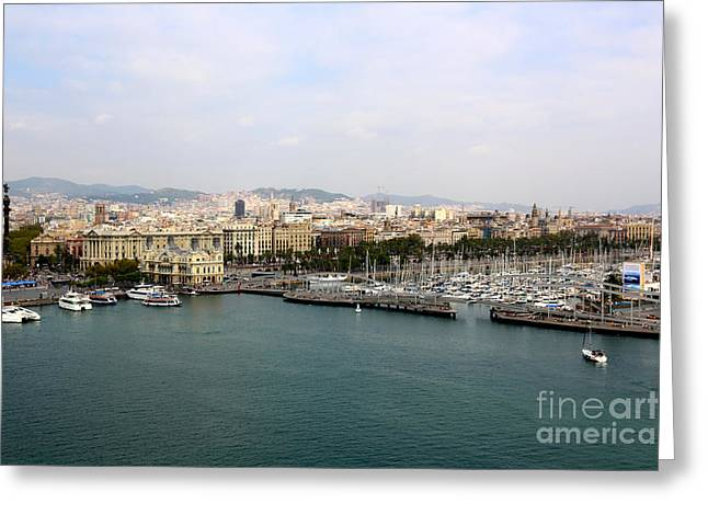 Beautiful Barcelona Greeting Card by Carol Groenen