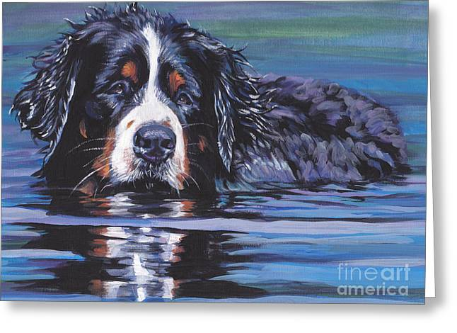 Berner Greeting Cards - Beautiful Berner Greeting Card by Lee Ann Shepard