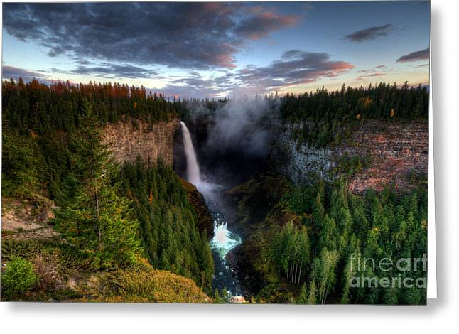 Thelightscene Greeting Cards - Beautiful British Columbia Greeting Card by Bob Christopher