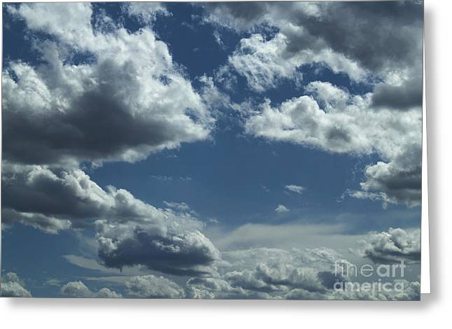Dantzler Photo Art For Sale Greeting Cards - Beautiful Cloud Formations Greeting Card by Andrew Govan Dantzler