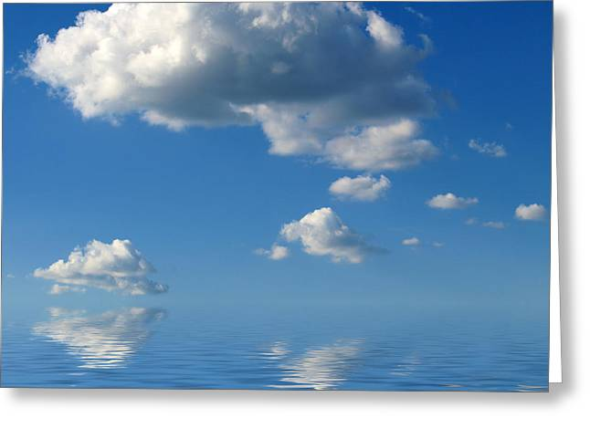 beautiful Clouds Greeting Card by Boon Mee