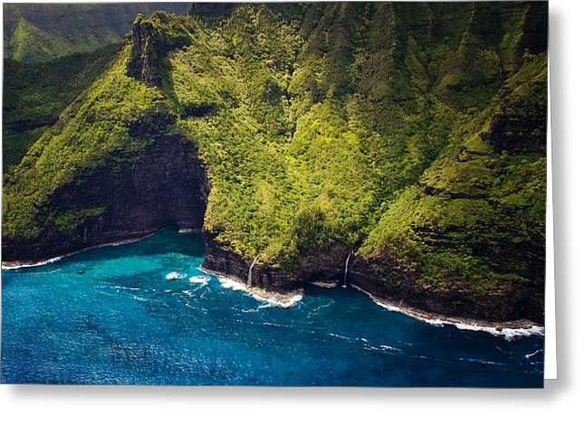 Beautiful Colors Of Kauai Greeting Card by Vicki Jauron