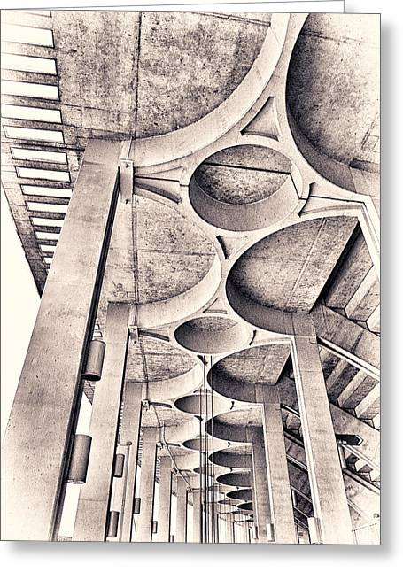 Adjectives Greeting Cards - Beautiful Concrete Greeting Card by Robert FERD Frank