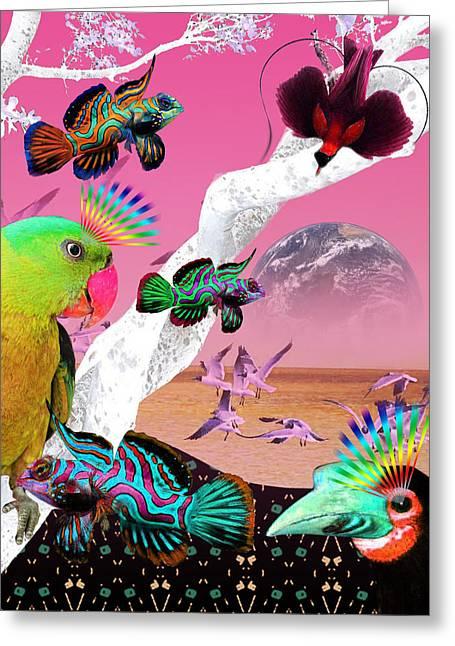 Jonathan Benitez Greeting Cards - Beautiful Creatures Greeting Card by Jonathan Benitez