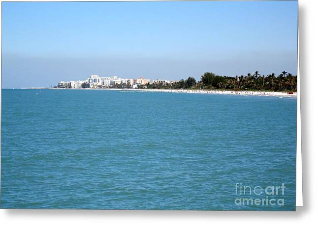 Nice Greeting Cards - Beautiful day in Florida Greeting Card by Oksana Semenchenko