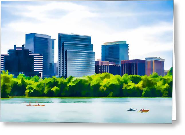 Washington D.c. Pastels Greeting Cards - Beautiful Day Greeting Card by Jon Phillips