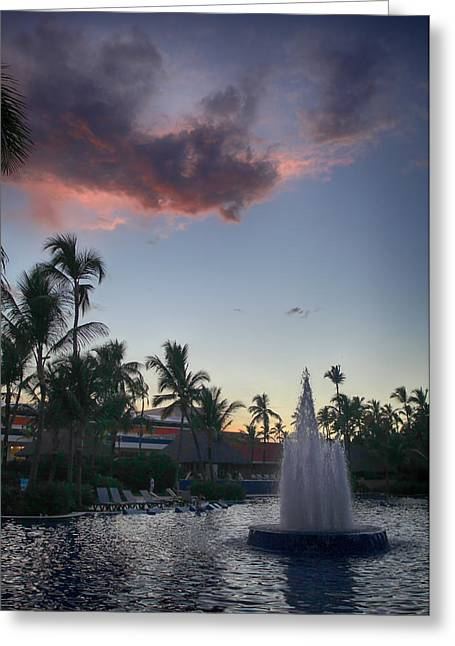 Pink Clouds Greeting Cards - Beautiful Endings Greeting Card by Laurie Search
