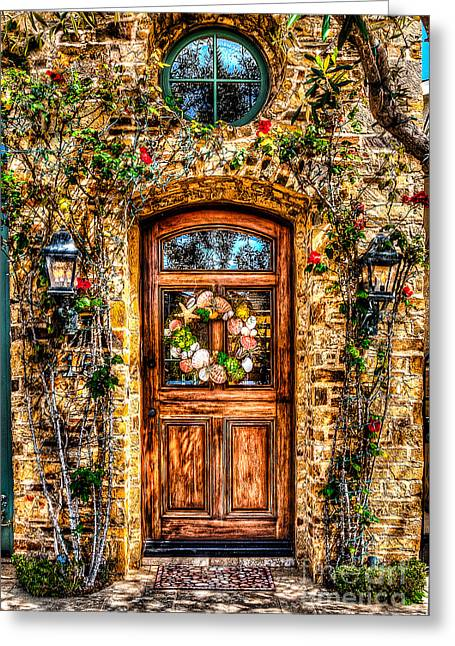 Entry-way Greeting Cards - Beautiful Entry Greeting Card by Jim Carrell