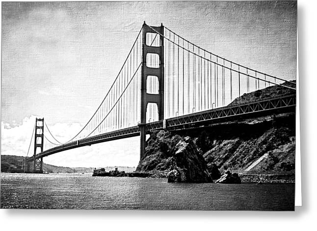 Best Sellers -  - Outlook Greeting Cards - Beautiful Golden Gate 2 Greeting Card by Jacque The Muse