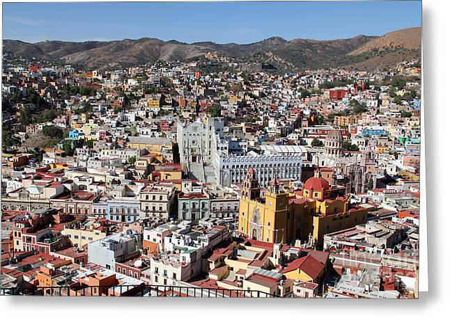 Linda Queally Greeting Cards - Beautiful Guanajuato Greeting Card by Linda Queally
