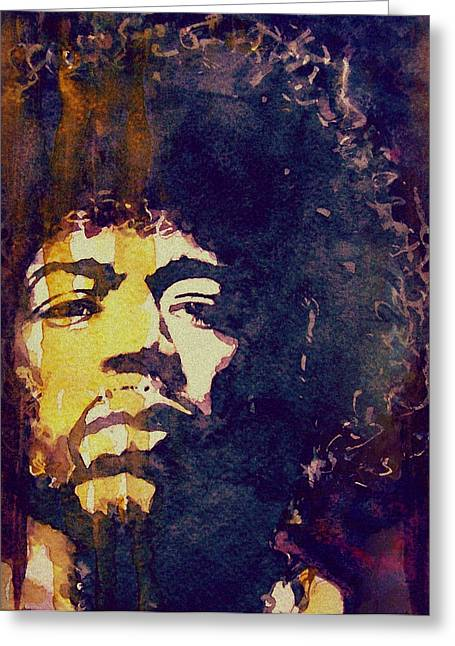 Singer Paintings Greeting Cards - Beautiful Haze Greeting Card by Paul Lovering