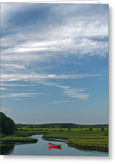 Harwich Greeting Cards - Beautiful Idyllic Cape Cod Greeting Card by Juergen Roth