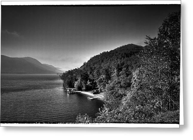 Hdr Landscape Greeting Cards - Beautiful Lake George Greeting Card by David Patterson
