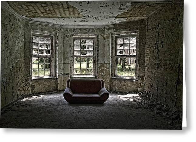 Empty House Greeting Cards - Beautiful Living? Greeting Card by Joachim G Pinkawa