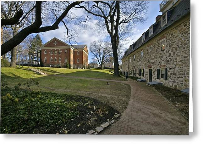 Recently Sold -  - Liberal Greeting Cards - Beautiful Moravian College Campus Greeting Card by Blair Seitz