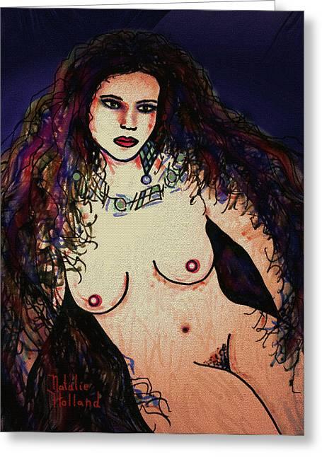 Fleshtones Greeting Cards - Beautiful Greeting Card by Natalie Holland