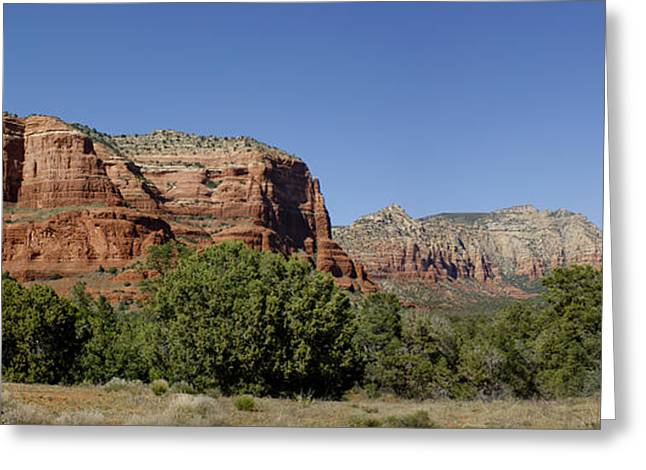 Looking At The Past Greeting Cards - Beautiful Sedona Greeting Card by Brian Kamprath