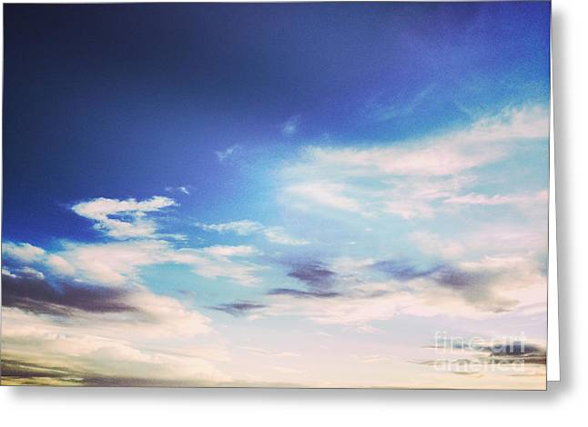 Mobile Phone Greeting Cards - Beautiful Sky Greeting Card by Colin and Linda McKie