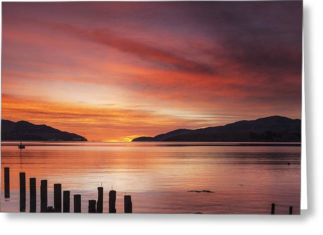 Governor Greeting Cards - Beautiful Sunrise Greeting Card by Colin and Linda McKie