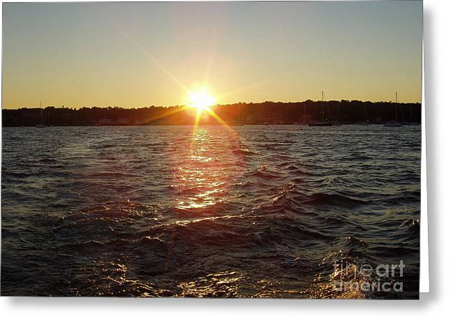 Print Photographs Greeting Cards - Beautiful Sunrise for a Day of Fishing Greeting Card by John Telfer