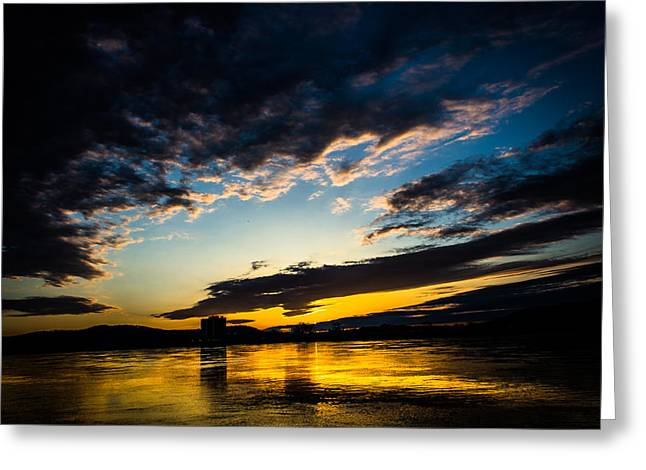 Jahred Allen Photography Greeting Cards - Beautiful Sunrise Greeting Card by Jahred Allen