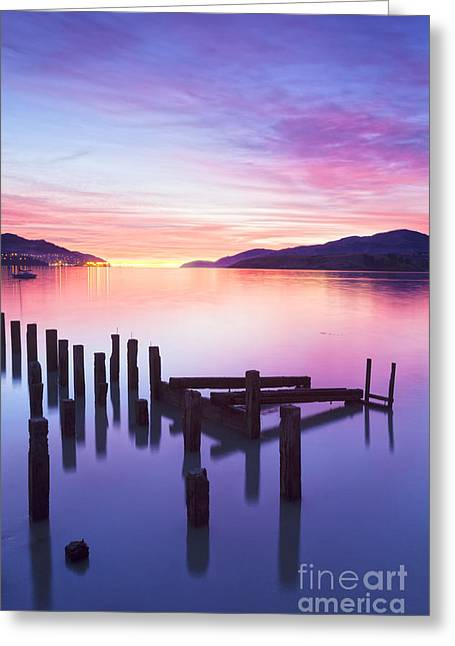Governors Greeting Cards - Beautiful Sunset Greeting Card by Colin and Linda McKie