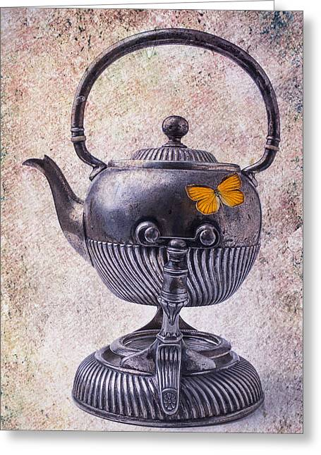 Beautiful Teapot Greeting Card by Garry Gay