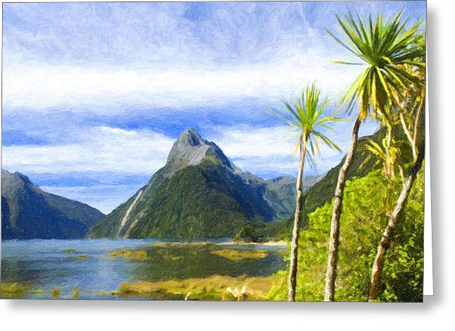 El-nido Greeting Cards - Beautiful tropical scenery Greeting Card by Lanjee Chee
