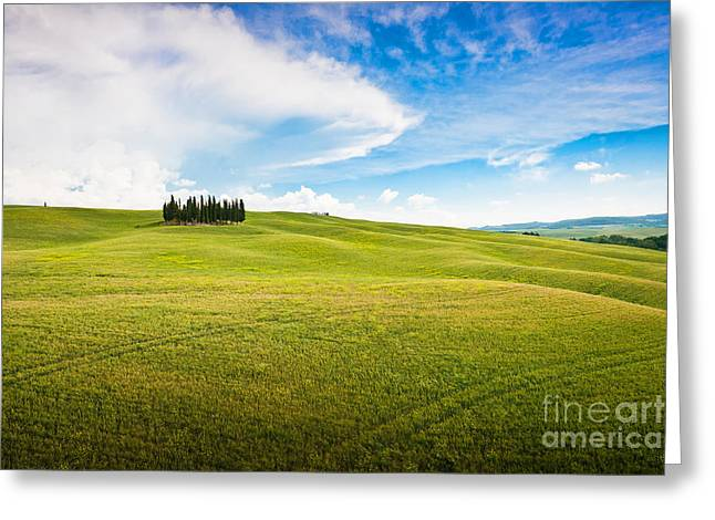 Chianti Hills Photographs Greeting Cards - Beautiful Tuscany Greeting Card by JR Photography
