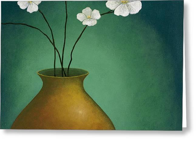 Beautiful Vase Greeting Card by Pablo Esteban