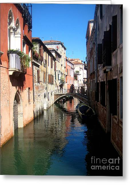 Art By Frederick Luff Greeting Cards - Beautiful Venice  Greeting Card by Europe  Travel Gallery