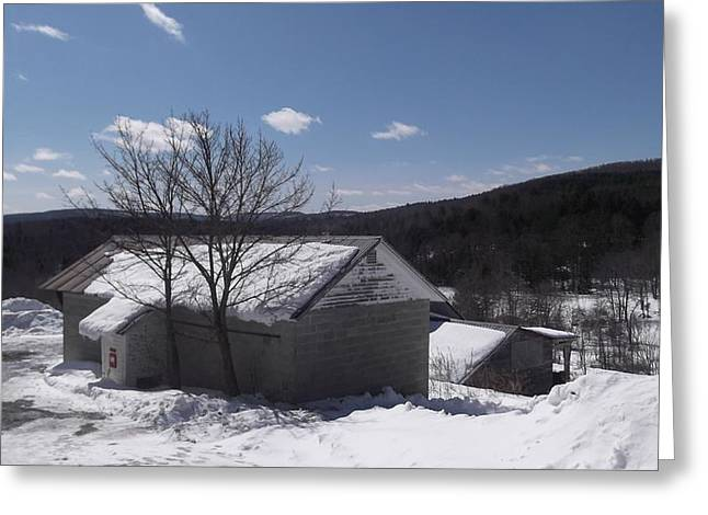 Basement Greeting Cards - Beautiful Vermont Greeting Card by Nectarios Platsis