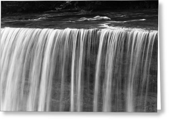 The Great Lakes Greeting Cards - Beautiful Waterfall Flow Greeting Card by Dan Sproul