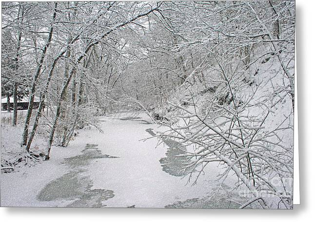 Purchase Greeting Cards - Beautiful Winter Greeting Card by Kay Novy