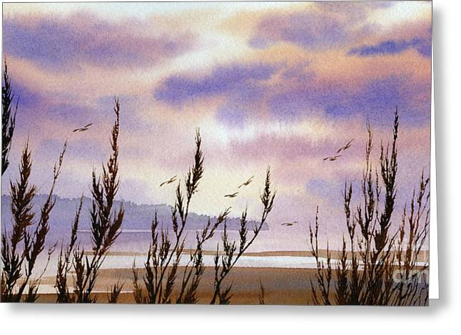 Landscape Framed Prints Greeting Cards - Beautiful World Greeting Card by James Williamson