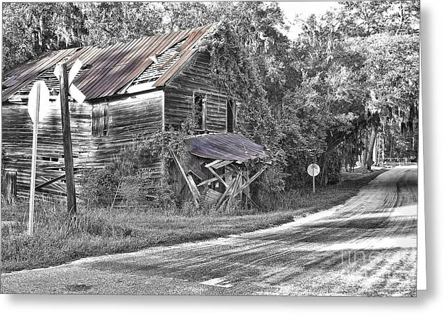 Best Sellers -  - Historic Country Store Greeting Cards - Beautifully Decrepit Greeting Card by Scott Hansen