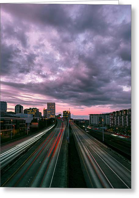 Tacoma Greeting Cards - Beauty and Grit Greeting Card by Ryan Manuel