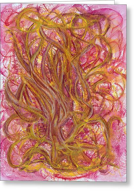 Popular Drawings Greeting Cards - Beauty and Imperfection Greeting Card by Kelly K H B