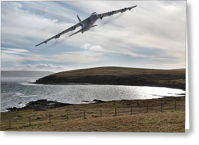 B-52 Greeting Cards - Beauty And The Buff Greeting Card by Peter Chilelli