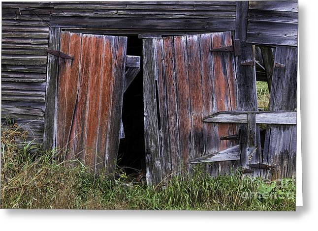 New England Village Greeting Cards - Beauty in the Abandoned Greeting Card by Thomas Schoeller