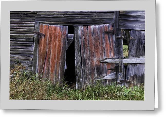 Vermont Village Greeting Cards - Beauty in the Abandoned Greeting Card by Thomas Schoeller