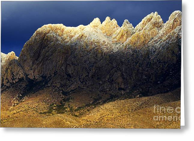 Las Cruces Landscape Greeting Cards - Beauty In The Land Of Enchantment Greeting Card by Bob Christopher