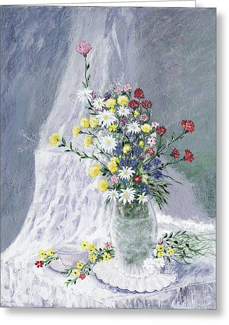 Leo Gehrtz Greeting Cards - Beauty is Within Greeting Card by Leo Gehrtz