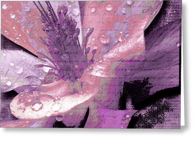Beauty IX Greeting Card by Yanni Theodorou