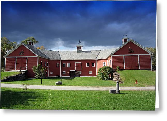 Weathervane Greeting Cards - Beauty of a Vermont Farm Greeting Card by Mountain Dreams