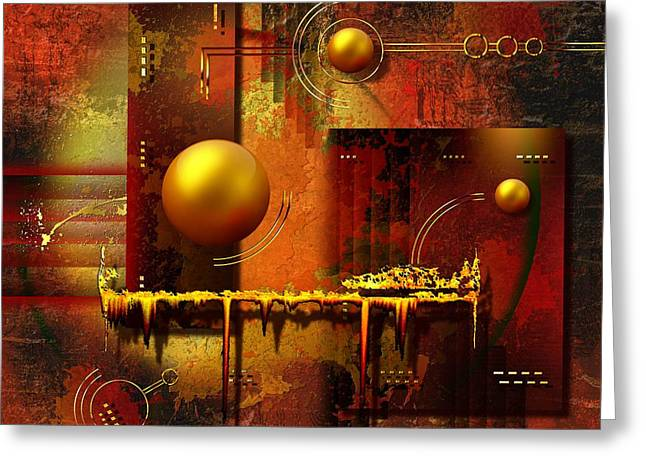 Seller Mixed Media Greeting Cards - Beauty of an illusion Greeting Card by Franziskus Pfleghart
