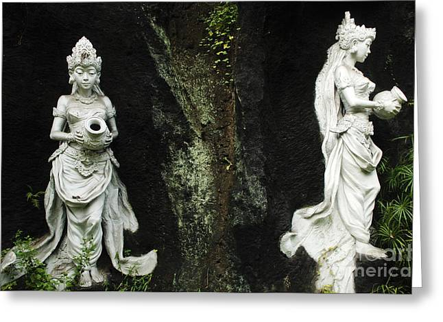 Hindu Art Greeting Cards - Beauty Of Bali Indonesia 1 Greeting Card by Bob Christopher
