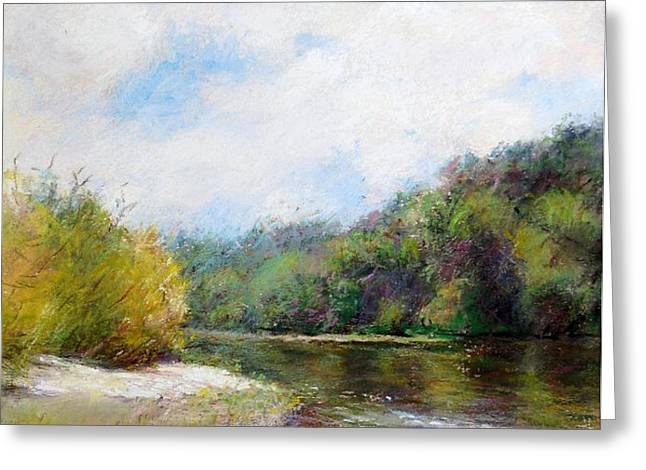 Beauty Of Nature  Greeting Card by Nancy Stutes